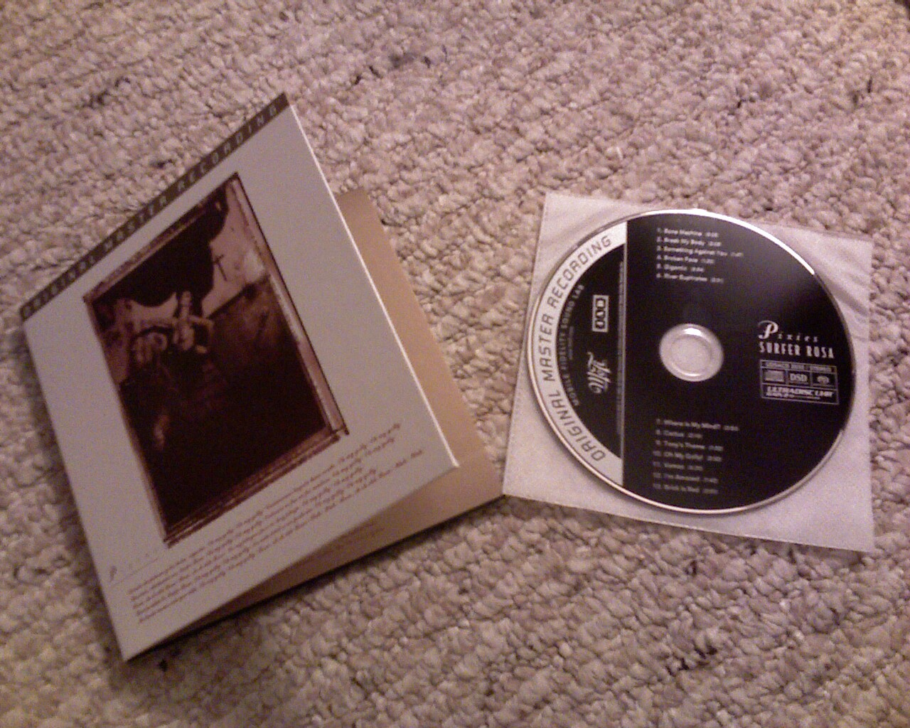 Surfer Rosa SACD unpacked